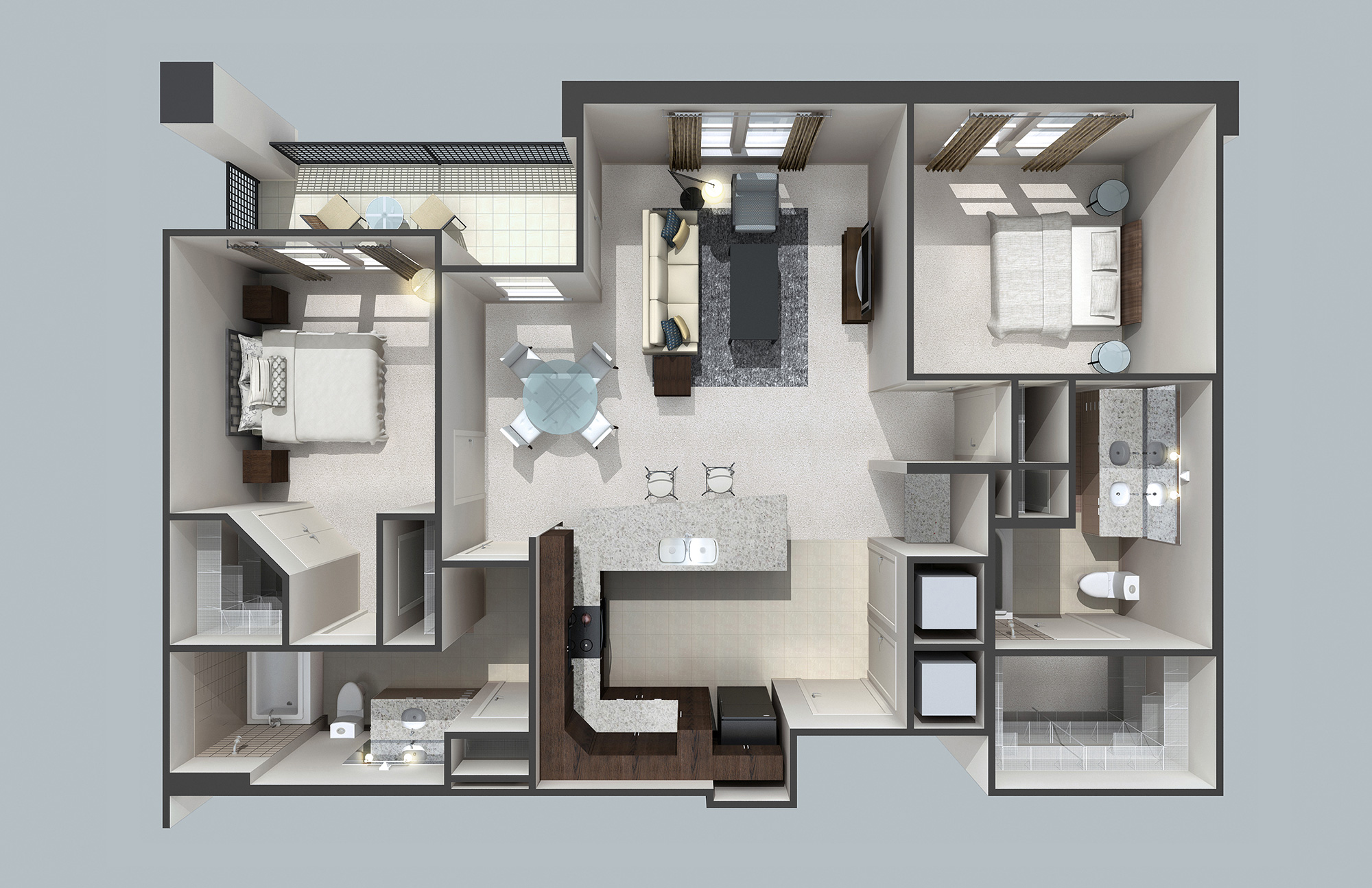 3d floor plans architectmedia for 3d plans online